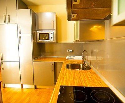 Cocina ap1 Apartamentos Dream Suites & Apartments Almería Centro